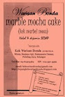 Tepung Kek Marble Mocha