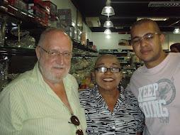 Manfred, Dra, Domingas e o futuro medico Jorge