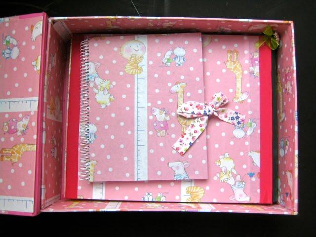 Caja de nacimiento rosa Baby