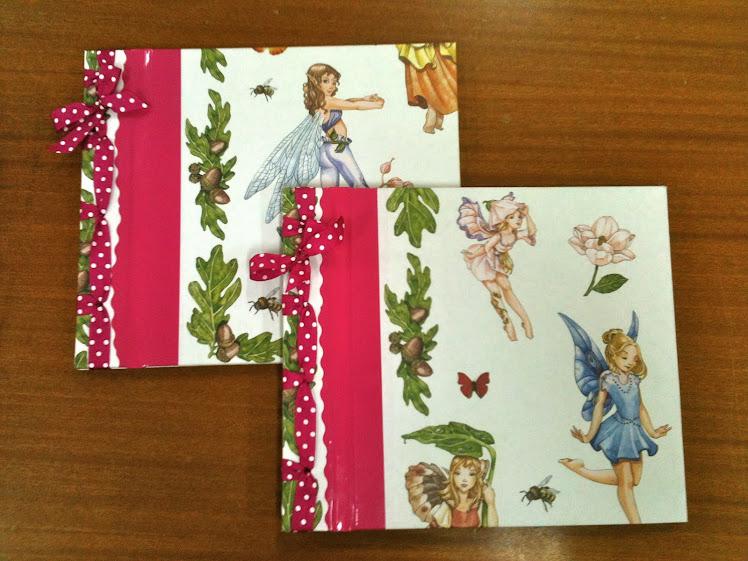 Cuadernos de pegatinas Hadas