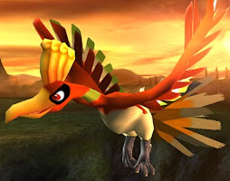 Ho-oh From Pokemon Heart Gold