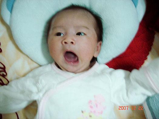 olivia @ 1 month