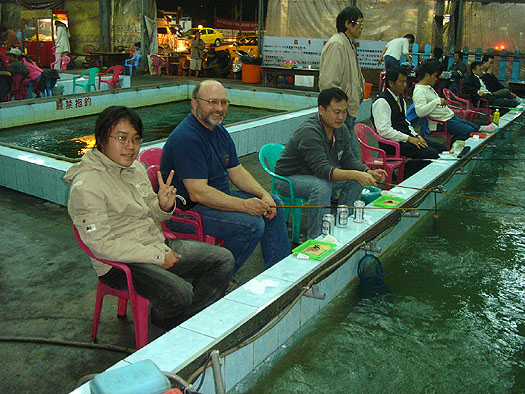 shrimp fishing taiwanese style
