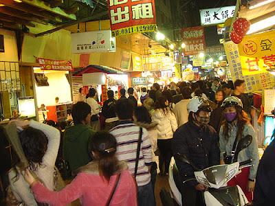 feng chia night market - taichung