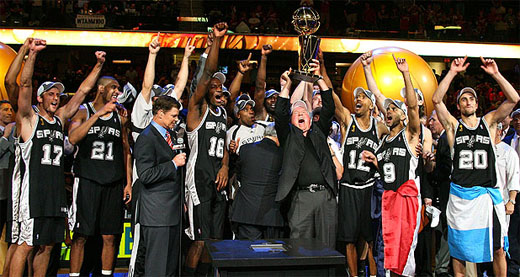 san antonio spurs... the new nba champions