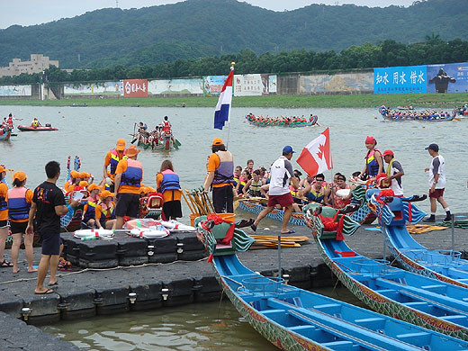dragon boat race in taipei