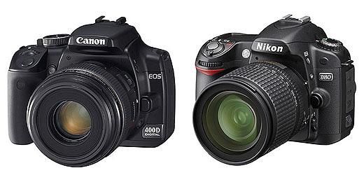 canon 400d or nikon d80?