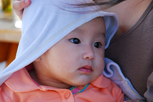 olivia @ 5 months