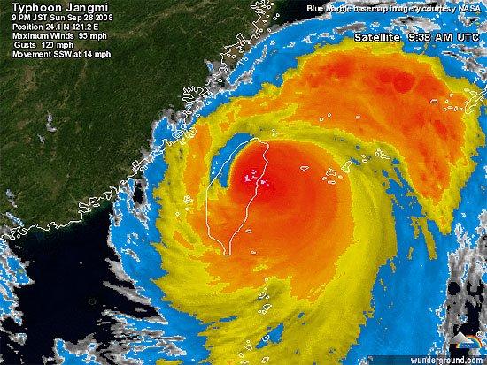 super typhoon jangmi