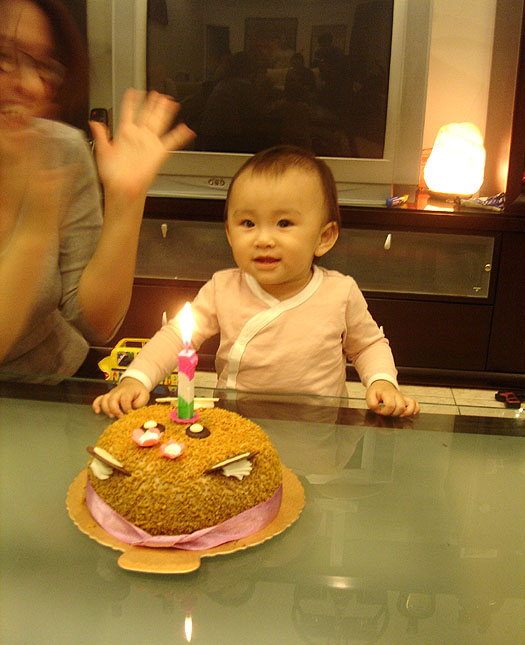 happy 1st birthday to olivia!