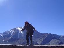 Na Cordilheira dos Andes