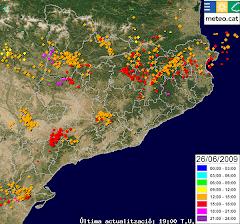 Mapa de rayos SMC.