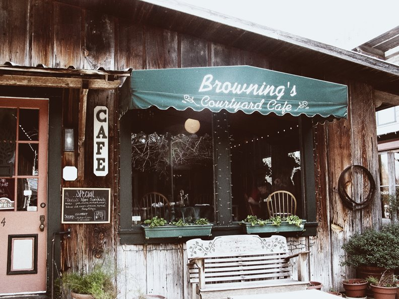 Browning's Cafe in Salado, Texas