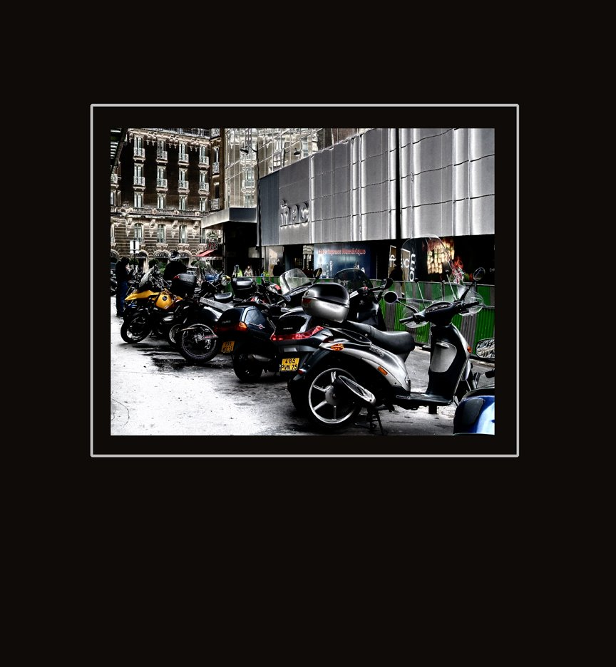 Motorcycles & Mopeds, Paris 2004