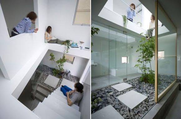 Tendenza idea design giardino dentro casa - Giardino interno casa ...