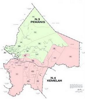 Peta Lokasi Parlimen Sekijang