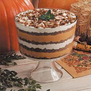 Delicious Pumpkin Trifle