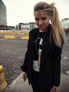 VERONICA FERRARO WEARS GIURO BLACK TEE