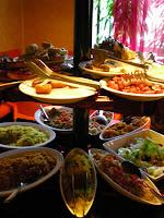 aperitivo cena a firenze a buffet