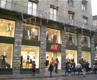 negozio h m a firenze