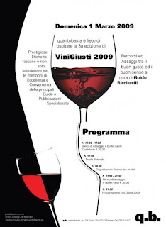 vini giusti 2009