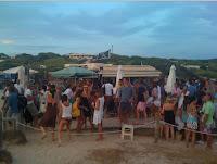 aperitivo spiaggia formentera