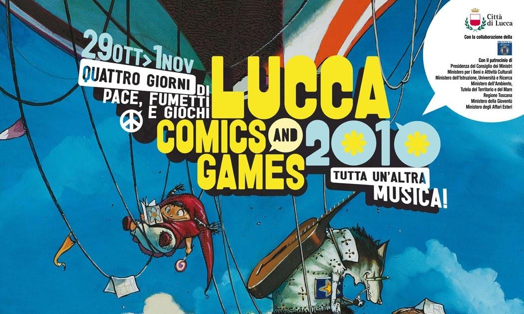 Lucca Comics And Games Guida Completa