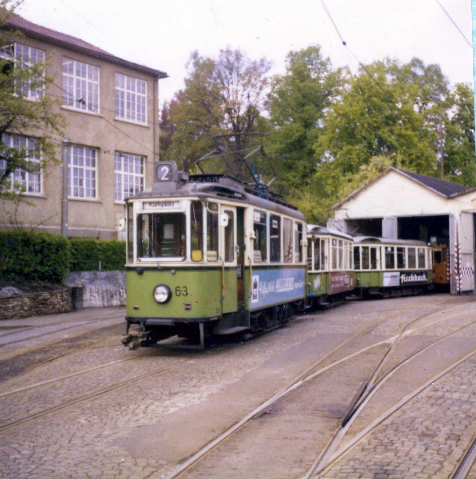 Bildertanz Stra Enbahn 2 Auch Die Linie 2 Musste