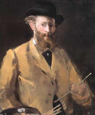Autorretrato de Edouard Manet