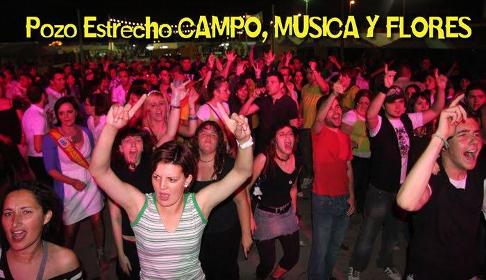 """POZO ESTRECHO """"CAMPO, MUSICA Y FLORES"""""""