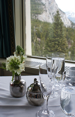 Rundle+Lounge (New School) Afternoon Tea at the Banff Springs