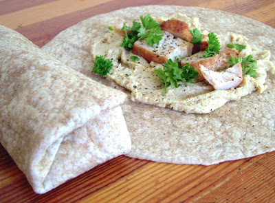 Chicken+Hummus+wraps Day 247: Chicken Hummus Wraps
