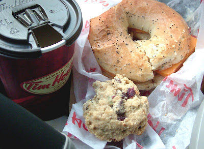 Tim%27s+in+the+car Day 282: Everything Bagel, Cheddar Cheese and Bean Cookies