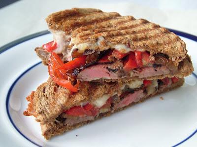 Beef+tenderloin+panini Day 308: Beef Tenderloin Panini