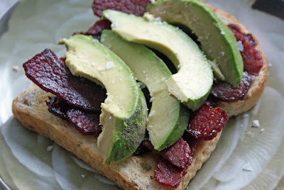 Bison+Bacon+%26+Avocado+sandwich Bison Bacon & Avocado Sandwiches and Strongbow