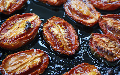 Roasted+Roma+Tomatoes Roasted Tomato and Goat Cheese Tarte Tatin