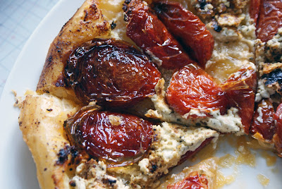 Roasted+Tomato+Tarte+Tatin+2 Roasted Tomato and Goat Cheese Tarte Tatin