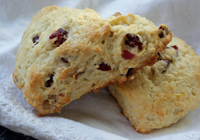 Lemon Cranberry Walnut+Scones Lemon Cranberry Walnut Scones