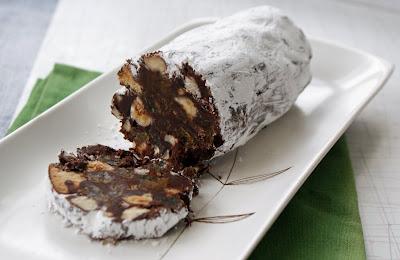 Chocolate+Salami Chocolate Salami