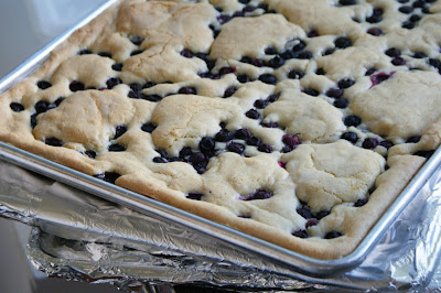Blueberry+Bars Blueberry Cobbler Cookie Bars