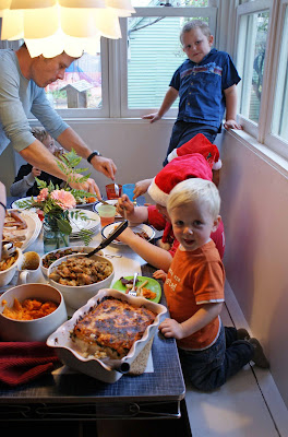 kids%27+table Turkey Dinner