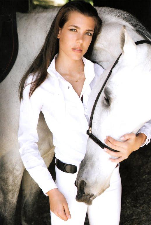charlotte casiraghi 2010. Charlotte Casiraghi 2010 Pics