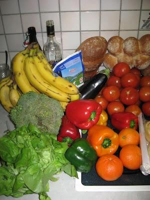 kostenloses Essen - containern