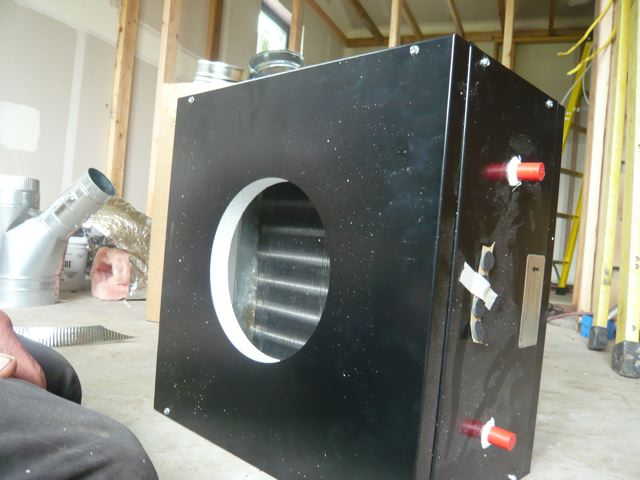 KICK PLATE HEATER HOT WATER