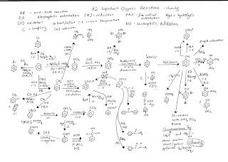 Organic a2 reactions