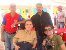 Compartiendo con el equipo reporteril de Venezuela Libre de Barreras