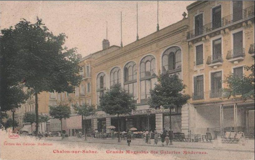 Commerces Immarcescibles Chalon Sur Sa Ne Galeries Modernes