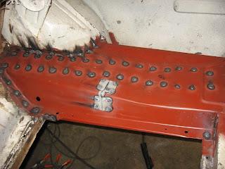1968 Mustang Convertible Restoration Welding In The