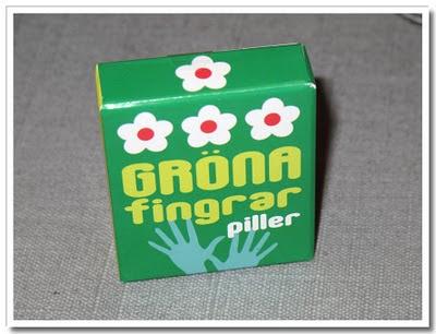 Piller för gröna fingrar