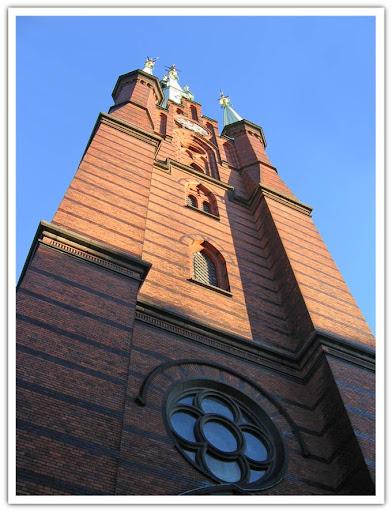 En liten del av Klara kyrka